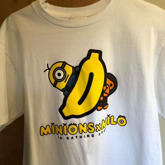 f6cbdea61 Bape Shirts | Baby Milo X Minions Shirt | Poshmark